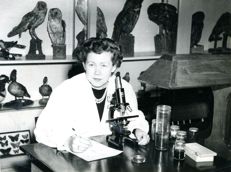 Jean Harmon at University of Tulsa