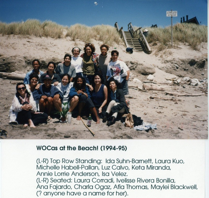 WOCas at the Beach!