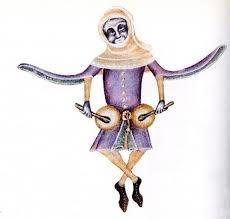 Marginal Illustration from the Luttrell Psalter.