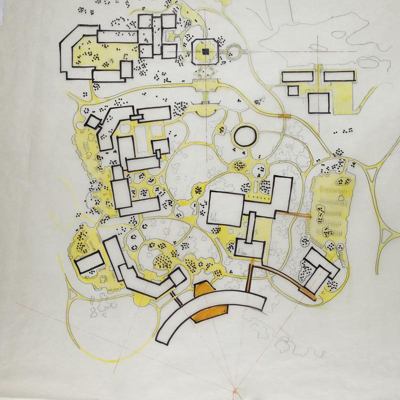 Central Campus Sketch