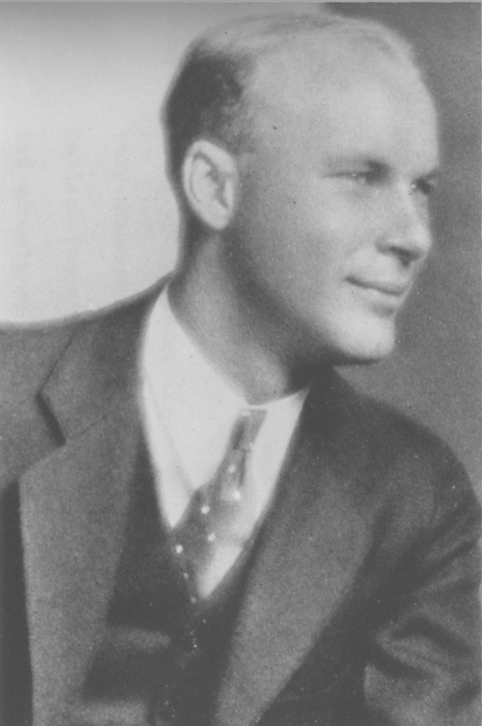Dean E. McHenry, President of the Associated Students, UCLA, 1932