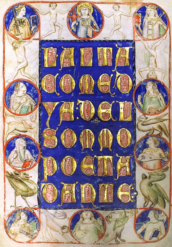 Title Page of Codex Altonensis- (5v)