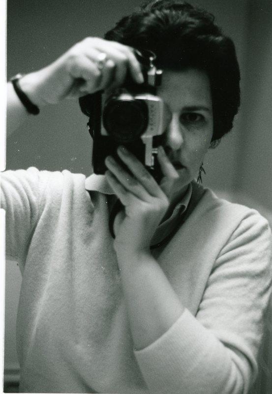 Ruth-Marion Baruch self-portrait, 1967