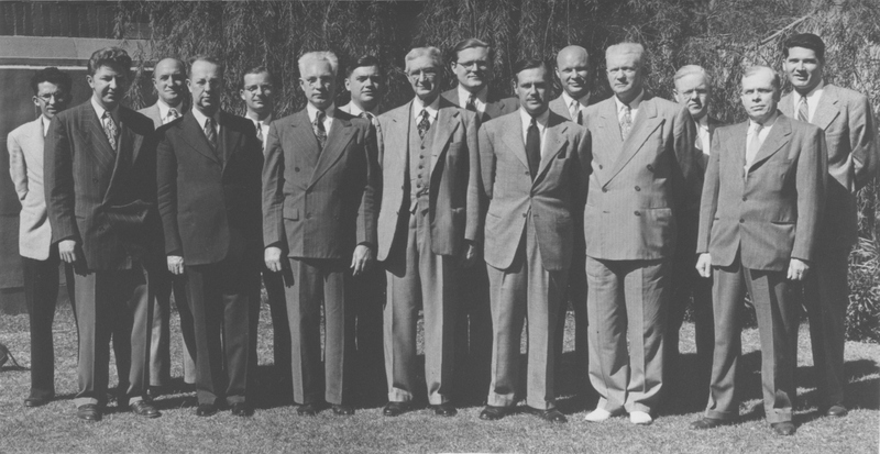 UCLA Political Science Faculty, 1947-48