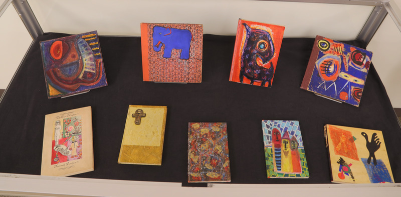 Case 9: Kenneth Patchen painted books