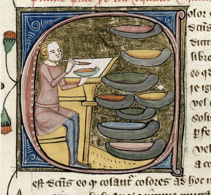 medieval pigments