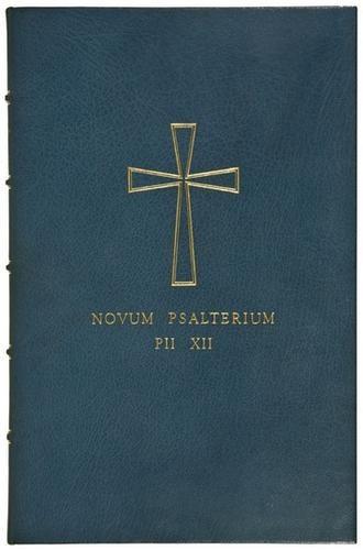 NOVUM PSALTERIUM PII XII COVER
