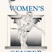 Women's Center Cardiff House poster. Circa 1990s