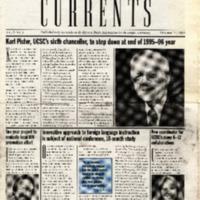 Currents (October 27, 1995; Vol. 6, No. 3)