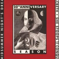 Summer 2001 season poster