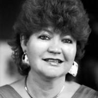 Shakespeare Santa Cruz staff: Karen Sinsheimer, president of the board of directors. 1986.