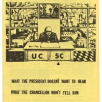 Citizens for University Responsibility flyer opposing proposed Research and Development Park, circa early 1980s.