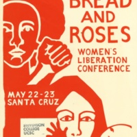 Bread and Roses Women's Liberation Conference. Poster. 1970.