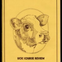 UCSC Course Review front and back covers. 1974.