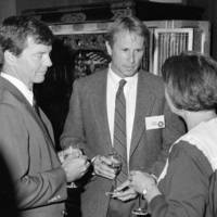 Monterey Bay National Marine Sanctuary: celebration of the designation, with Michael Tanner, Gary Griggs, and unidentified woman