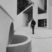 Kresge College building, 1974.