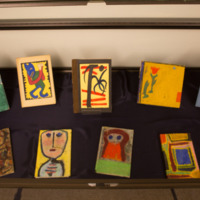 Case 14: Kenneth Patchen painted books