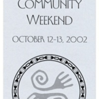 College Ten Multicultural Weekend. Brochure. 2002.