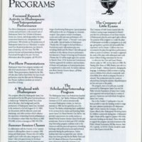 program excerpt, educational programs, Little Eyases
