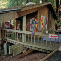 GLBT (Gay Lesbian Bi Trans) Resource Center: building exterior. 2000.