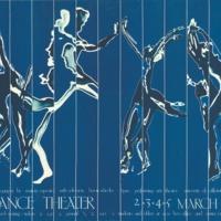 Dance Theater Institute poster, 1978.