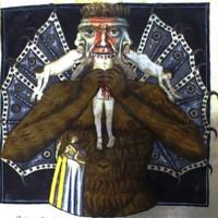 Lucifer with Three Heads -(46r)