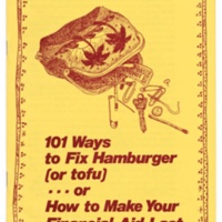 101 Ways to Make Your Financial Aid Last. Brochure. Circa 1978.