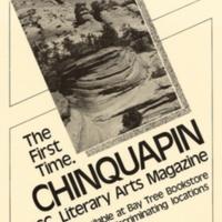 Chinquapin Literary Magazine poster.