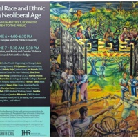 Doing Critical Race and Ethnic Studies in a Neoliberal Age. Institute of Humanities Research. Poster. 2014.