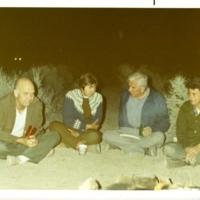 UCSC Botany Tea group spring desert trip to the Mohave desert