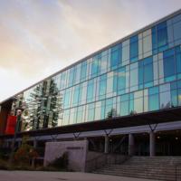 Jack Baskin School Of Engineering at dusk