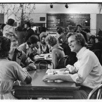 Stevenson College Coffeehouse. Circa 1970s