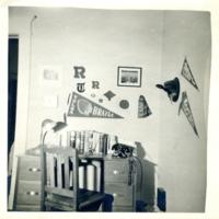 Jean Harmon's desk at home