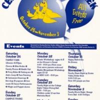 Celebrate Family Week. Poster. Circa 1990s