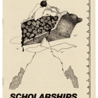 Scholarships at UCSC brochure. Circa 1978.