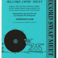 KZSC Record Swap. Circa 1992