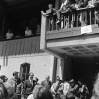Student Strike of May 1969: occupation of Central Services. May 19, 1969