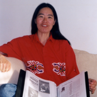 Photo of Alison Kim. Circa 2000.