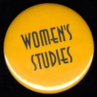Women Studies button. Circa 1990s?