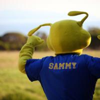 Sammy the Slug mascot