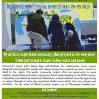 Building Understanding: Narratives of the Middle East. Flyer. 2012.