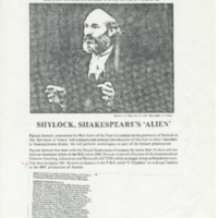 Advertisement for Patrick Stewart visit in 1983