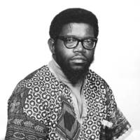 Herman Blake, professor of sociology,  (later founding provost of Oakes College). Circa early 1970s.