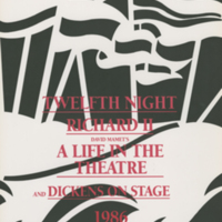Summer 1986 season poster