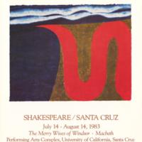 Summer 1983 season poster