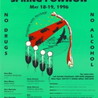 5th Annual UCSC Spring Powwow. May 18, 1996. Poster