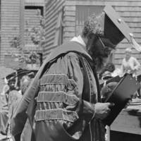 1979 Commencement, Oakes College ceremony:  with Herman Blake