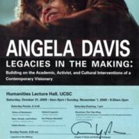 Angela Davis: Legacies in the Making, 2009 (signed).