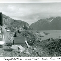 Langenheim on field trip to Alaska
