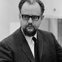 George M. Benigsen, founding faculty, professor of Russian. 1967.
